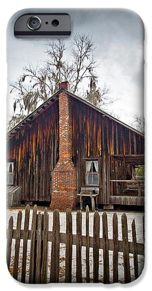 The Chesser Homestead iPhone Case by M J Glisson