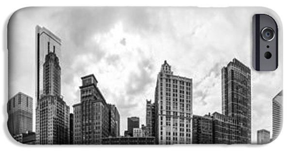 Stainless Steel iPhone Cases - The Chicago Bean and Skyline iPhone Case by Semmick Photo