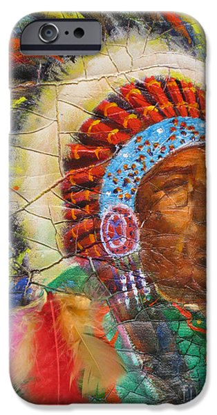 Pride Paintings iPhone Cases - The Chief iPhone Case by Mohamed Hirji