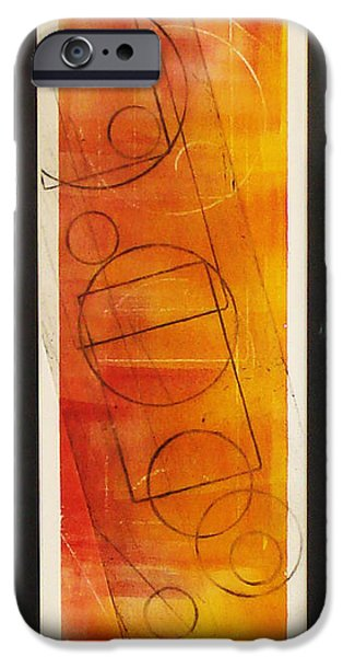 One Reliefs iPhone Cases - The Choice To Act Or Let Be iPhone Case by Yael VanGruber