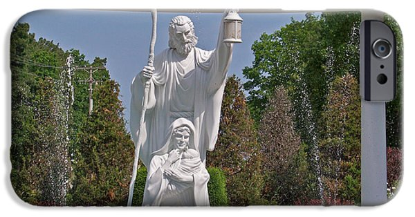 Arkansas Mixed Media iPhone Cases - The Christ Child iPhone Case by Julie  Grace
