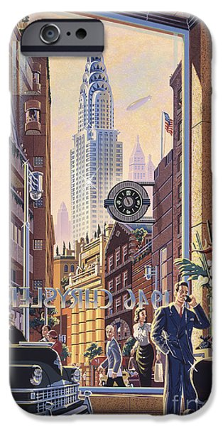 Modernist iPhone Cases - The Chrysler iPhone Case by Michael Young