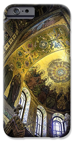 The Resurrection Of Christ iPhone Cases - The Church Of Our Savior On Spilled Blood 2 - St. Petersburg - Russia iPhone Case by Madeline Ellis