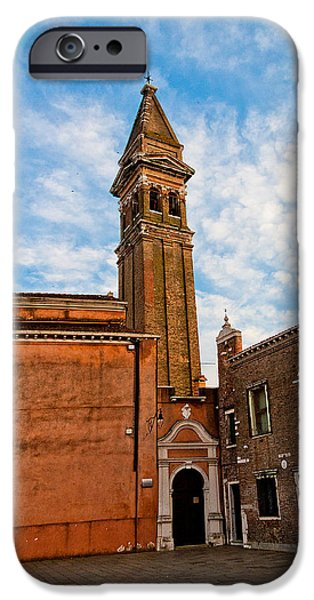 The Church of Saint Martin iPhone Case by Peter Tellone