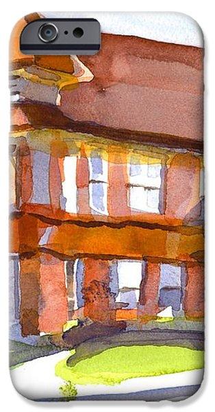 The Church on Shepherd Street 3 iPhone Case by Kip DeVore