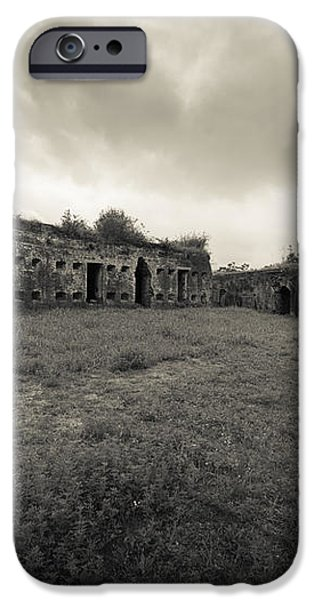 The Citadel at Fort Macomb iPhone Case by David Morefield
