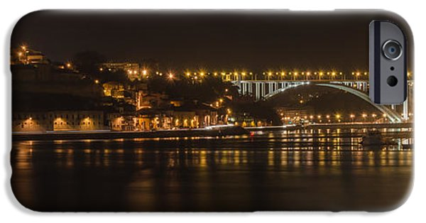 Consumerproduct iPhone Cases - The City At Night II iPhone Case by Alexandre Martins