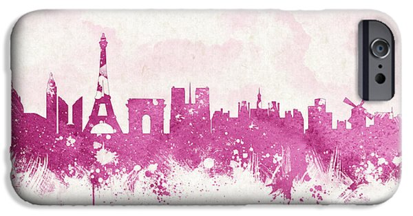 Europe Mixed Media iPhone Cases - The City Of Love iPhone Case by Aged Pixel