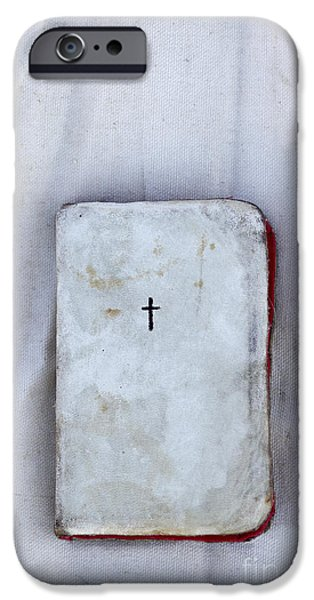 Worn Leather iPhone Cases - The Cloth iPhone Case by Margie Hurwich