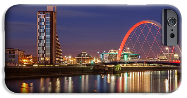 Mean iPhone Cases - The Clyde Arc  iPhone Case by John Farnan