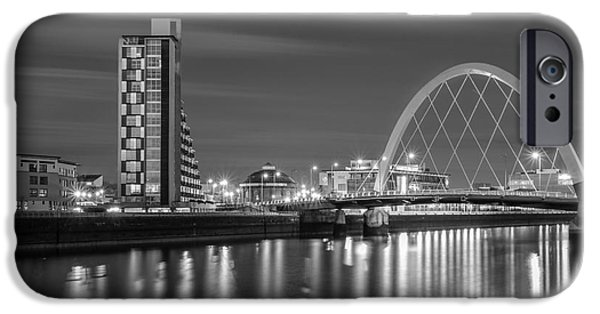 Mean iPhone Cases - The Clyde Arc mono iPhone Case by John Farnan