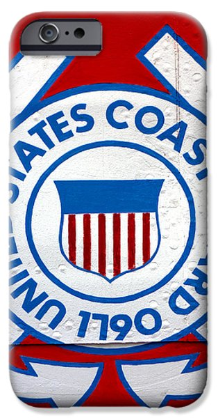 The Coast Guard Shield iPhone Case by Olivier Le Queinec