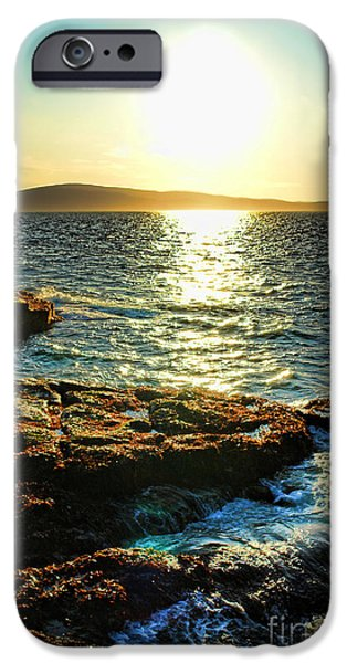 Maine iPhone Cases - The Coast of Maine iPhone Case by Olivier Le Queinec