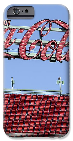 The Coca-Cola Corner iPhone Case by Susan Candelario