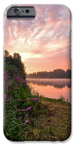 The Color Purple iPhone Case by Davorin Mance