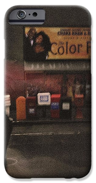 The Color Purple iPhone Case by Linda Unger