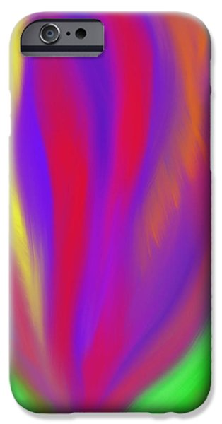 The Colors' Creation iPhone Case by Daina White