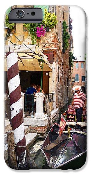 Child iPhone Cases - The Colors Of Venice iPhone Case by Irina Sztukowski