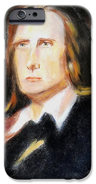 Piano Pastels iPhone Cases - The Composer iPhone Case by Judy Kay