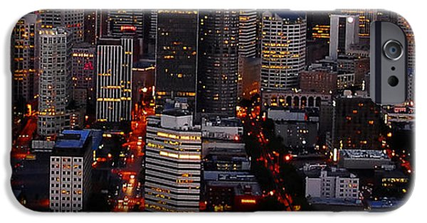Concrete Jungle iPhone Cases - The Concrete Jungle iPhone Case by David Lee Thompson