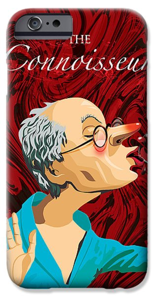 The Connoisseur iPhone Case by Johnny Trippick