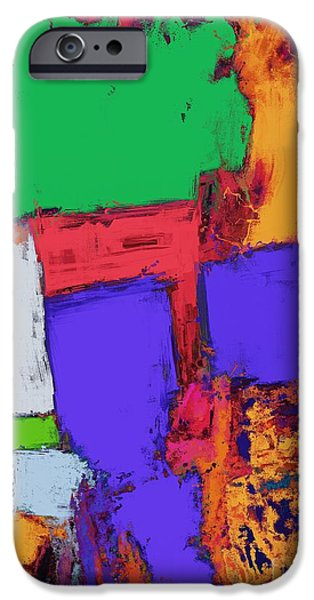 Loose Style Digital iPhone Cases - The correct place iPhone Case by Keith Mills