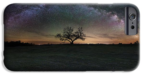 Cosmo iPhone Cases - The Cosmic Key iPhone Case by Aaron J Groen