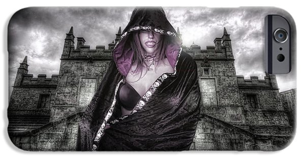 Countess iPhone Cases - The Countess 2.0 iPhone Case by Yhun Suarez