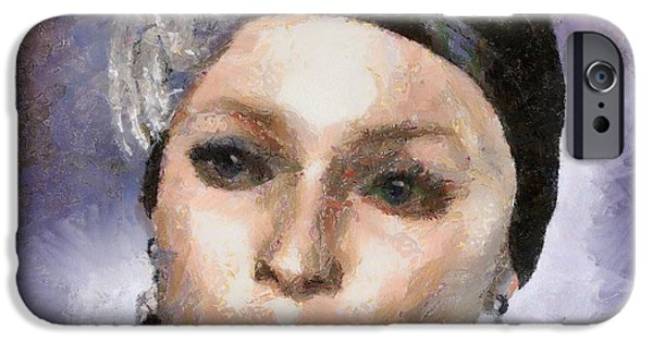Duchess Paintings iPhone Cases - The Countess iPhone Case by Tyler Robbins