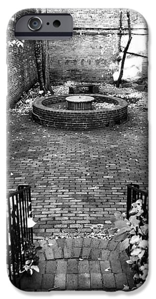 The Courtyard at the Old North Church iPhone Case by John Rizzuto