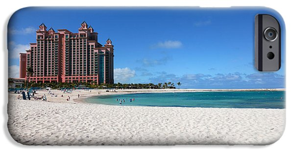 Atlantis iPhone Cases - The Cove at Atlantis Resort iPhone Case by Amy Cicconi