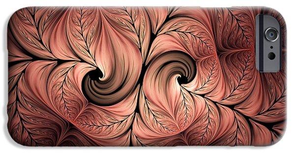 Asymmetrical iPhone Cases - The Creative Mind iPhone Case by Georgiana Romanovna