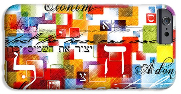 Bible iPhone Cases - The Creator iPhone Case by Gary Bodnar