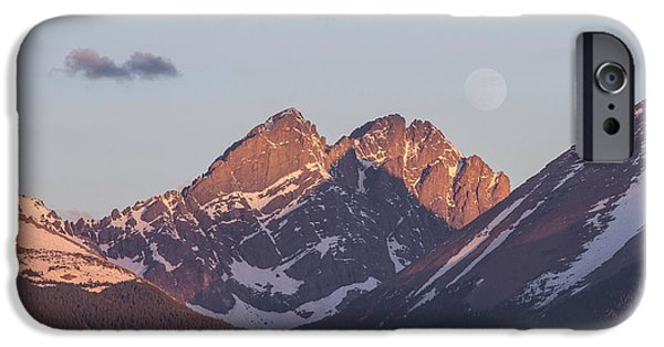 Unique View iPhone Cases - The Crestones 2 iPhone Case by Aaron Spong