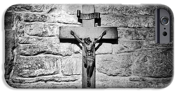 Jesus Photographs iPhone Cases - The Cross iPhone Case by Tim Gainey