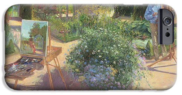 Painter Photographs iPhone Cases - The Crossing, 1997 Oil On Canvas iPhone Case by Timothy Easton