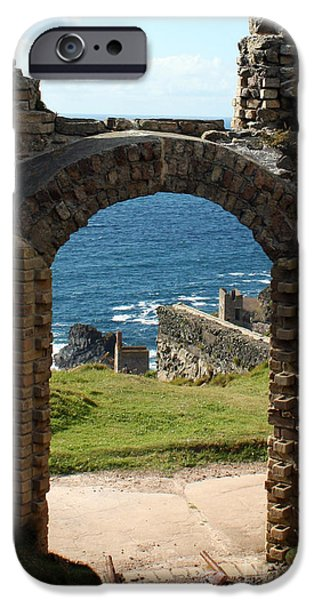 The Crowns of Cornwall iPhone Case by Terri  Waters
