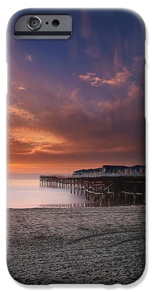 The Crystal Pier iPhone Case by Larry Marshall