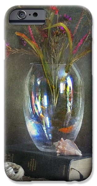 The Crystal Vase iPhone Case by Diana Angstadt