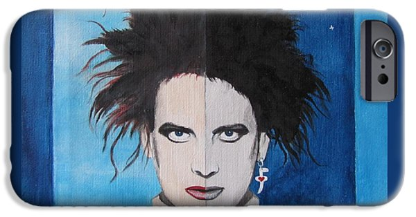 Sylvester Stallone iPhone Cases - The Cure iPhone Case by Jeepee Aero