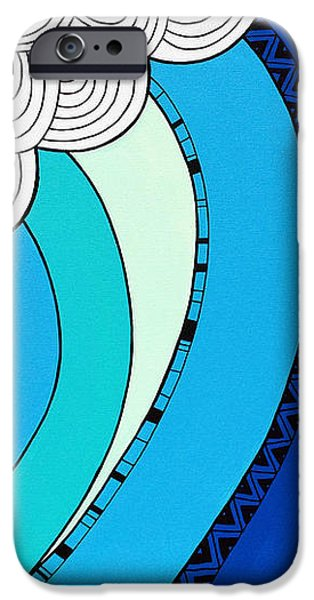 The Curl iPhone Case by Susan Claire