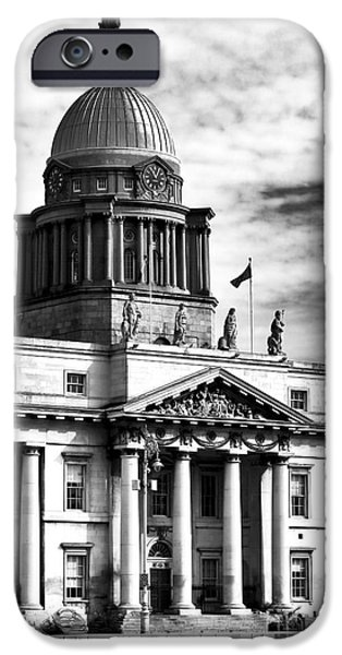 The Custom House iPhone Case by John Rizzuto