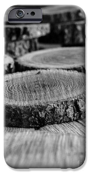 Cut iPhone Cases - The Cuttings II iPhone Case by Edward Fielding