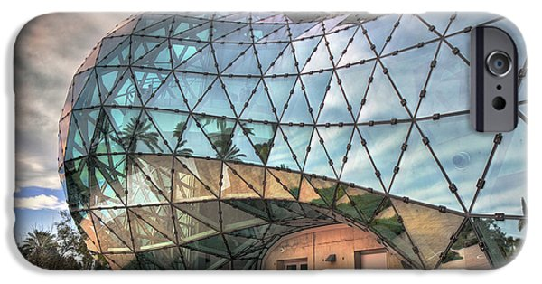 Painter Photographs iPhone Cases - The Dali Museum St Petersburg iPhone Case by Mal Bray