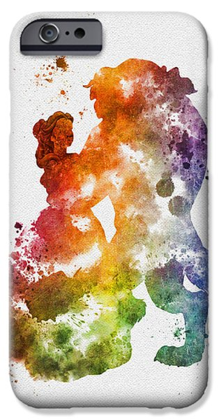 Recently Sold -  - Animation iPhone Cases - The Dance iPhone Case by Rebecca Jenkins