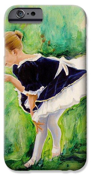 The Dancer iPhone Case by Sheila Diemert