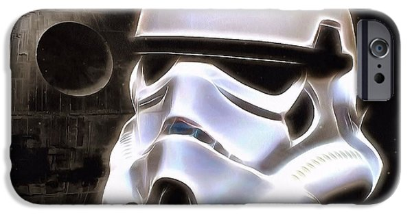 Weapon iPhone Cases - The Dark Side iPhone Case by Dan Sproul