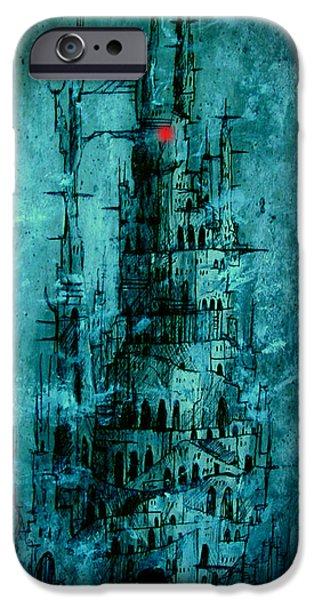 The Dark Tower iPhone Case by Joe  Gilronan