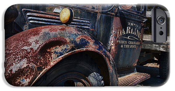 Mt Airy North Carolina iPhone Cases - The Darlins Truck iPhone Case by David Arment