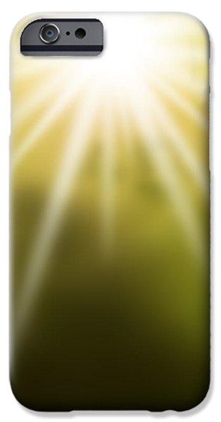 the dawn iPhone Case by ATIKETTA SANGASAENG